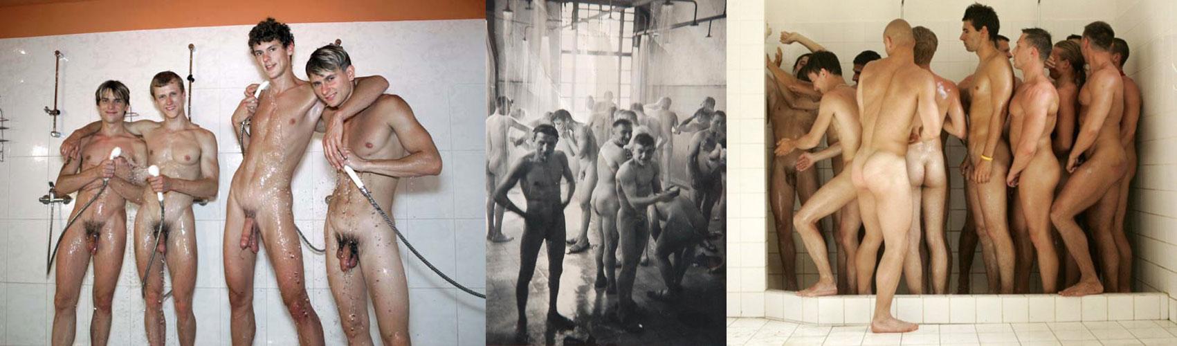 Boys Gym Shower - Hot Girls Wallpaper